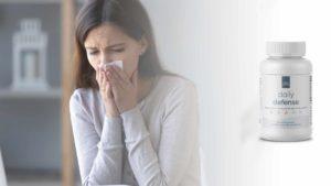 Sneezing person
